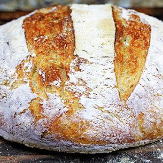 Crusty No-Knead Artisan Bread Recipe