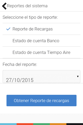 Tecnopay Recargas- screenshot