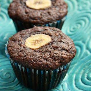 Double Chocolate Whole Wheat Banana Muffins