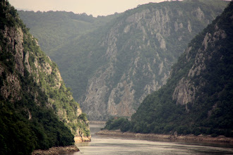 Photo: Day 83 - Iron Gates on the Danube (Narrowest Point - 150 Metres Wide) #2