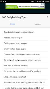 100 Bodybuilding Tips - náhled