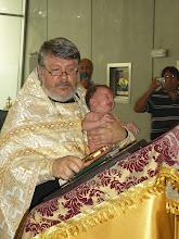 Photo: Крещение раба Божия Александра - Doop van de dienaar Gods Alexander