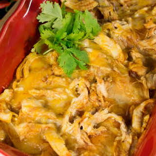 4-Ingredient Chicken Enchilada Casserole.