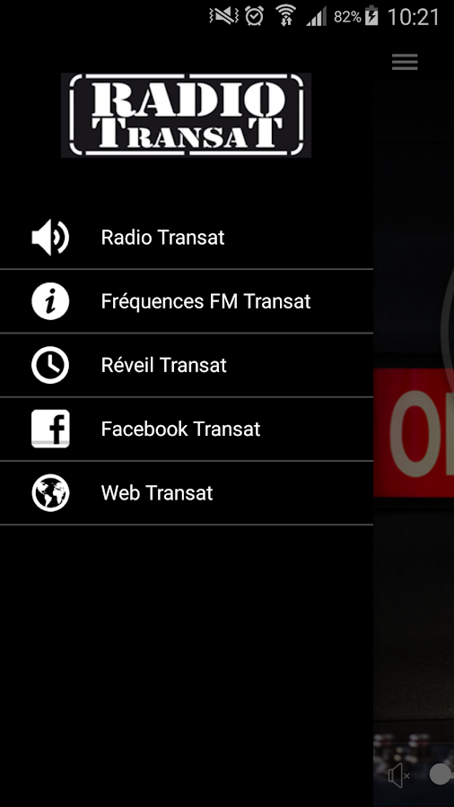 Radio Transat- screenshot