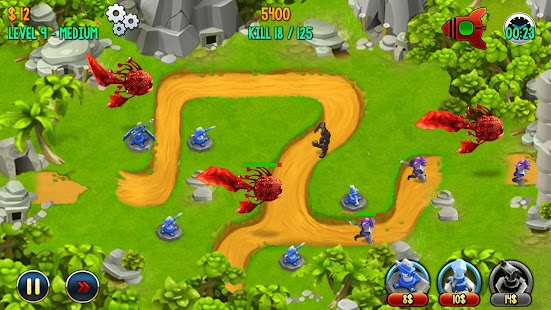 Defense Zone – Epic Battles Screenshot