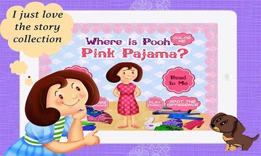 Where is Pooh's Pink Pajama