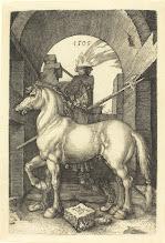 Photo: Albrecht Dürer (German, 1471 - 1528 ), Small Horse, 1505, engraving, Rosenwald Collection