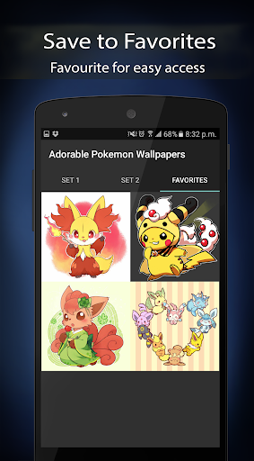 (APK) تحميل لالروبوت / PC Adorable Pokemon Wallpapers تطبيقات screenshot