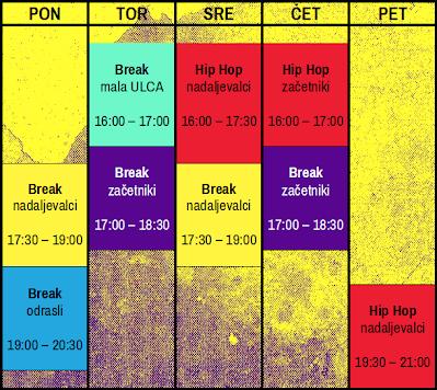 *tečaj Hip Hop - začetniki se začne v oktobru