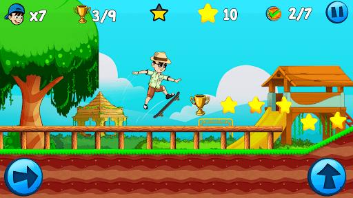 Skater Kid apkpoly screenshots 3