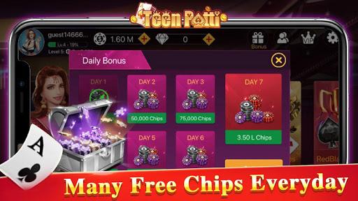 TeenPattiKing - 3 Patti Poker Card Game 1.0.1 screenshots 7