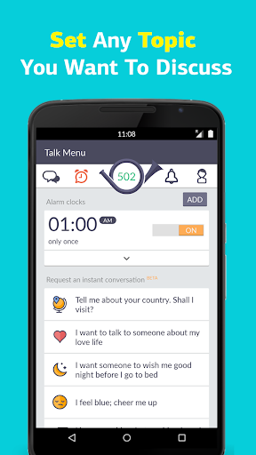 Wakie: Talk to Strangers Chat