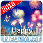 Happy New Year 2018 Wishes Wallpaper Images SMS Icon