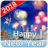 Happy New Year 2018 Wishes Wallpaper Images SMS