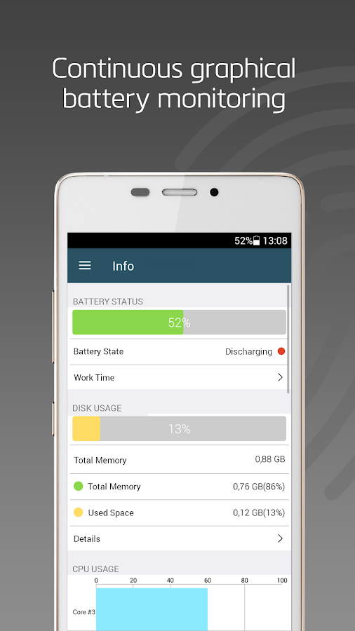 System Status Pro - Activity Monitor & Device Info- screenshot