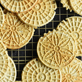Brown Butter Cardamom Pizzelles.