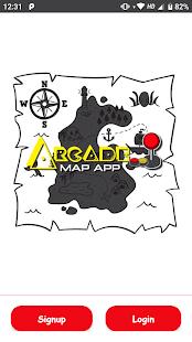 Arcade Map App - náhled