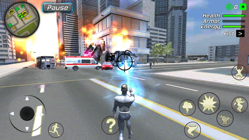Hurricane Superhero : Wind Tornado Vegas Mafia screenshots 10