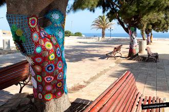 Photo: 6: Aquí también ha llegado la moda de vestir objetos urbanos con croché, es el Urban Knitting, un movimiento mundial que tiene como objetivo reivindicar lo estético y lo femenino a través de la calle. Ecológicos, pacíficos, respetan el entorno...