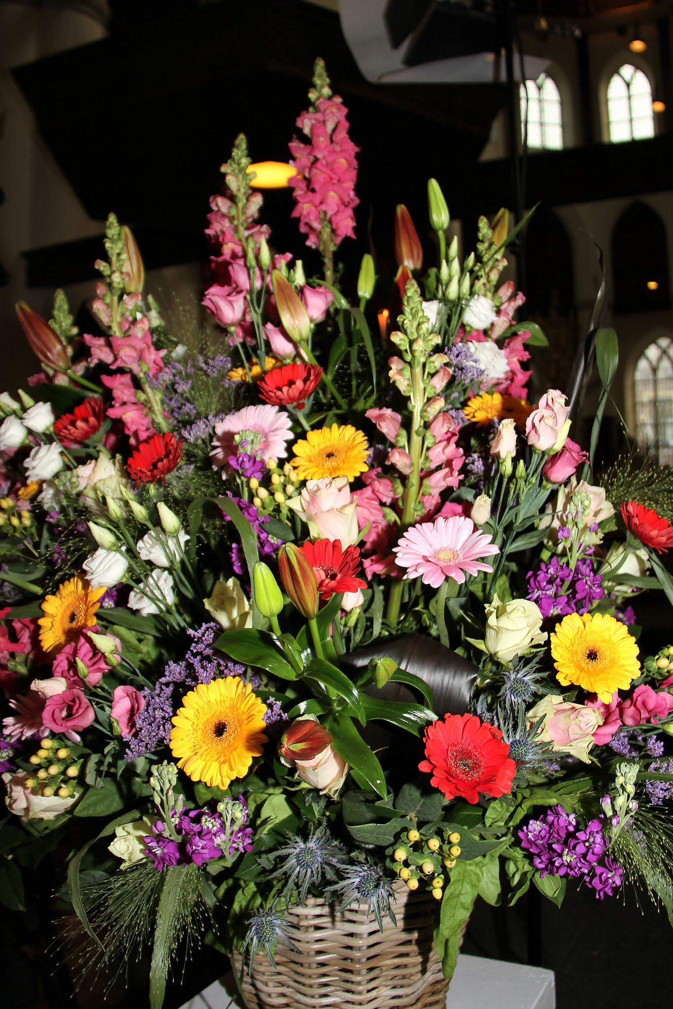 Photo: Al prachtige bloemstukken zijn gemaakt door Tasja den Hartog