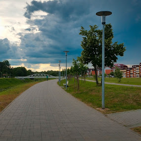 Vukovar by Antonio Knezevic - City,  Street & Park  City Parks ( sky, city, vukovar, trees, park, walk )