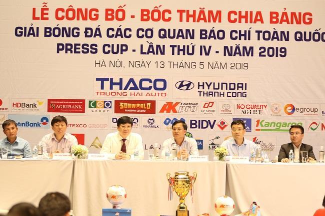 Lãnh đạo các cơ quan quản lý báo chí nhận định chất lượng chuyên môn và uy tín của Press Cup ngày càng được nâng cao. Ảnh: Báo điện tử Gia đình Việt Nam