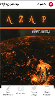 Oğuz Savaş - Azap Şiir Kitabı - náhled