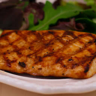 Soy-Grilled Mahi Mahi recipe with Korean Dipping Sauce.
