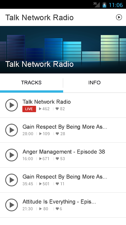 Talk Network Radio- screenshot