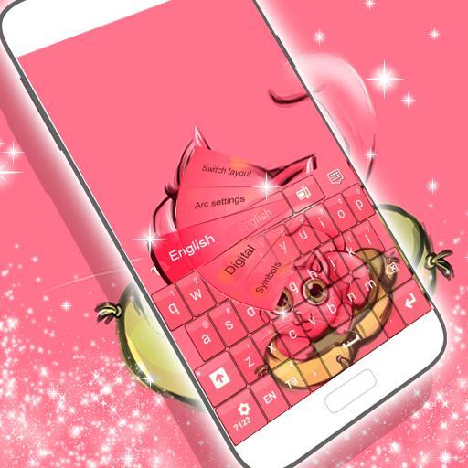 个人化のかわいい猫のキーボード LOGO-記事Game