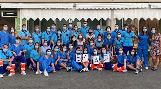 Almería pulveriza el récord de vacunas del covid: 15.773 dosis en un día