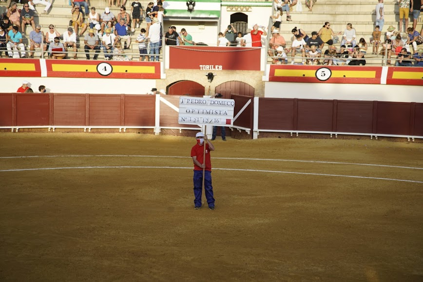 Imagen de la plaza de toros.