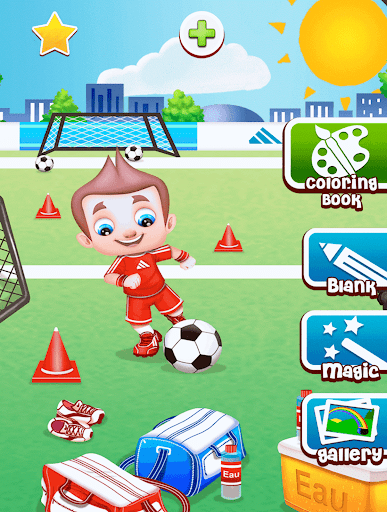 Download Football Coloring Book Game For PC