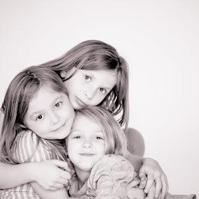 Sisters by Aim Huston - Babies & Children Child Portraits