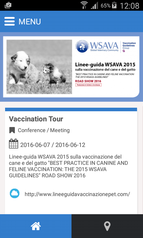 Vaccination Tour- screenshot