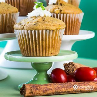 Savory Corn Muffins with Basil, Ricotta Cheese, and Cinnamon Clove Tomato Jam