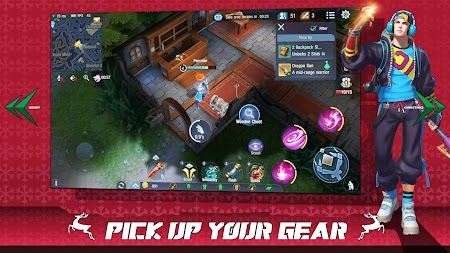 Survival Heroes - MOBA Battle Royale APK screenshot thumbnail 3