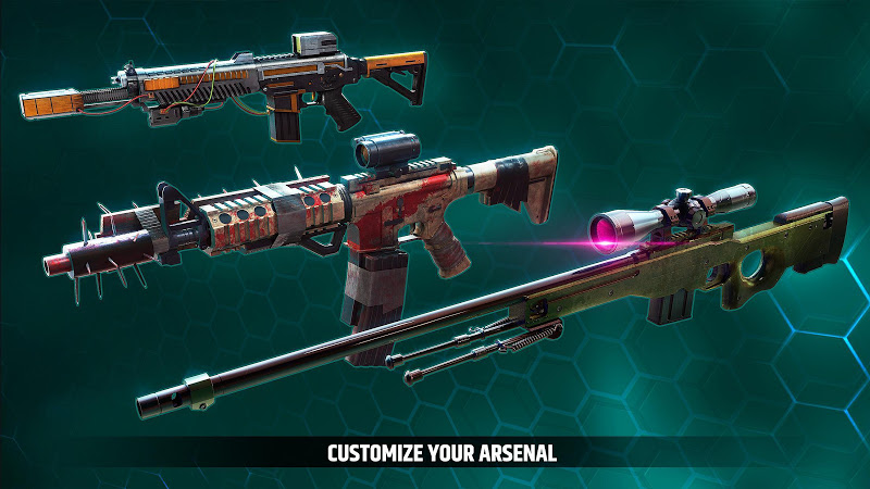 Cover Fire: offline shooting games Screenshot 2