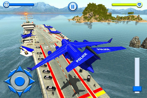 US Police Robot Dog - Police Plane Transporter 1.1 screenshots 16