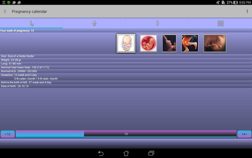 Pregnancy Calendar 2.5.1 screenshots 9