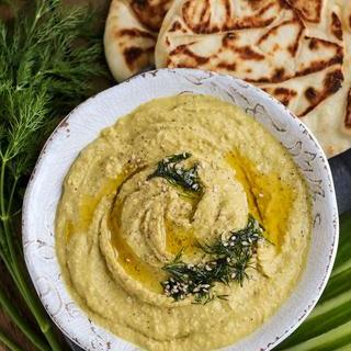 Lemon Tahini Hummus.