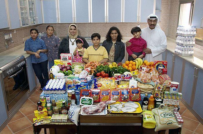 oHtMqRN8d0zR06064 J6IPnNzMWMC0M3srWcLNcnCIE=w700 h462 no - Недельный запас еды для семьи в разных странах мира (фото)