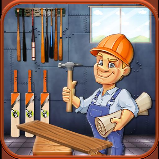 Cricket & Baseball Bat Factory – Maker Simulator (game)