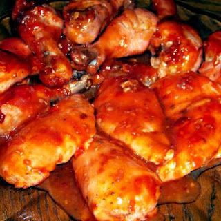 Baked Chicken With Gooey Apricot Sauce