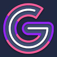 Garis Dark - Icon Pack