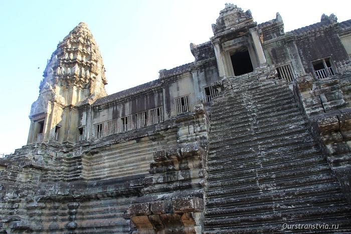 Ангкор Ват храмовый комплекс в Камбодже