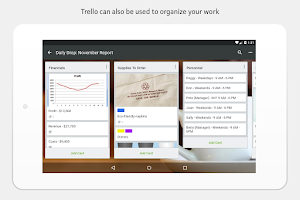 Screenshot of Trello