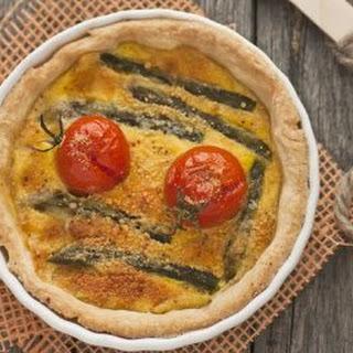 Asparagus Quiche Tart