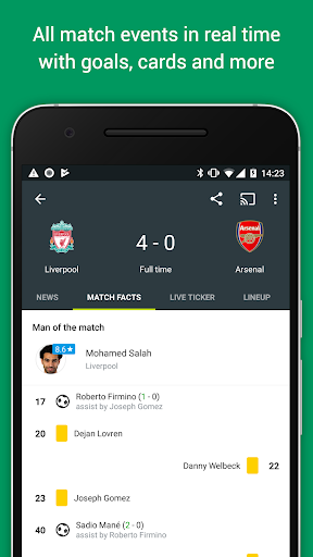 FotMob Pro - Live Soccer Scores  screenshots 2
