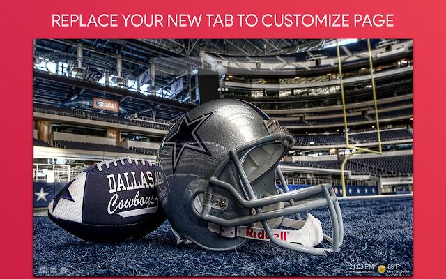 Dallas Cowboys Wallpaper HD Custom New Tab